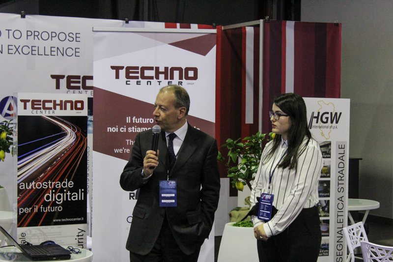 Andrea Zoffoli presenta la soluzione di Safe City - Techno Center al Safety & Security Expo 2020