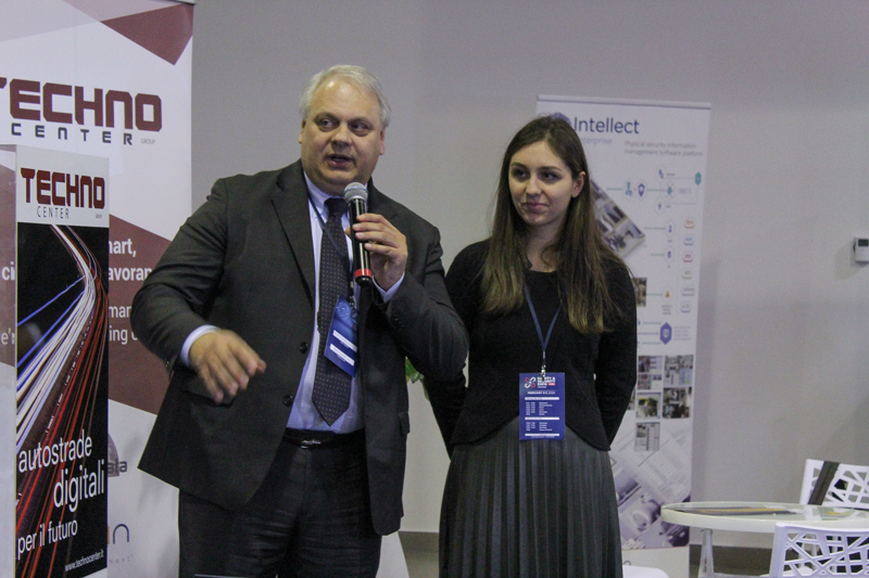 Gustavo Mastrobuoni presenta la soluzione di Smart Management of Territory - Techno Center al Safety & Security Expo 2020